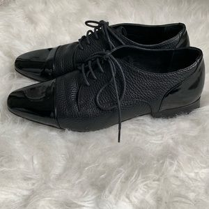 Hotic Shoes - BLACK OXFORDS